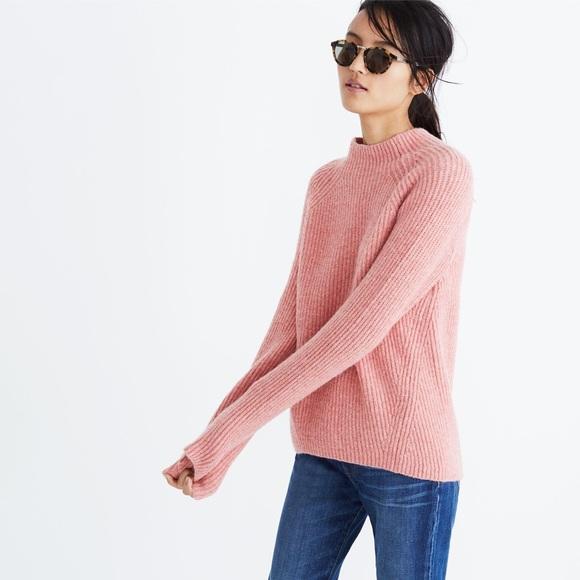 ba4baec2bb8 Madewell Northfield Mockneck Sweater